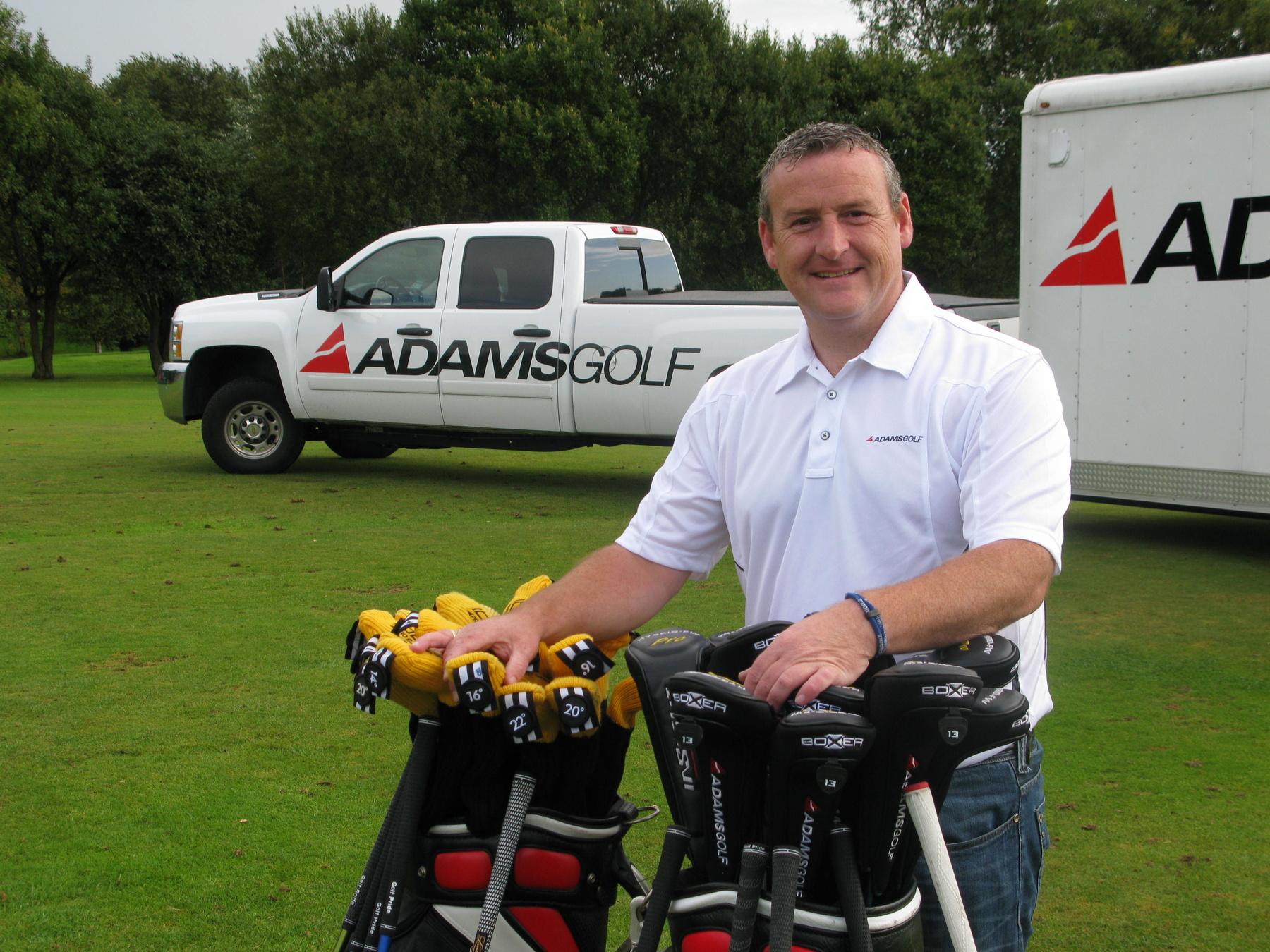 Phil Aitken from UK Golf Distribution