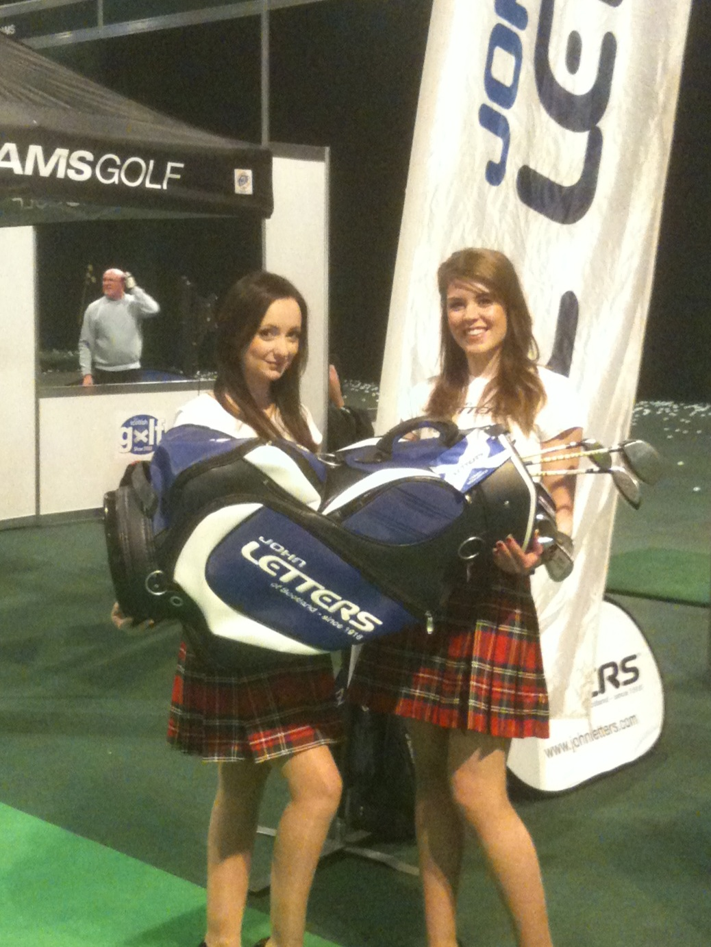 John Letters at Scottish Golf Show