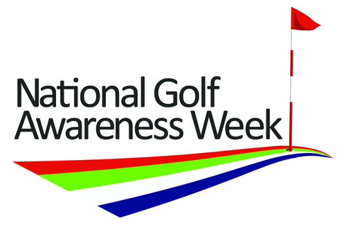 Wales golf awareness week logo