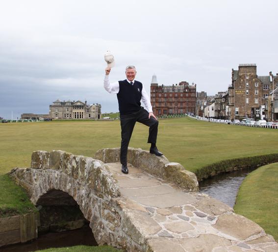 alan retirement St Andrews links low res