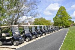 EZGO golf car fleet Mannings 0392mod