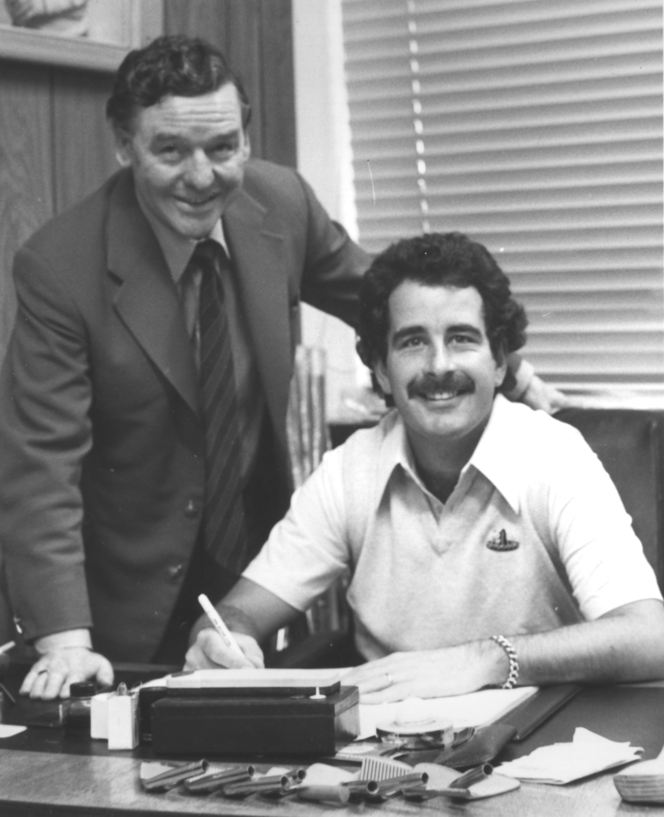 Jimmy Letters and Sam Torrance 1971