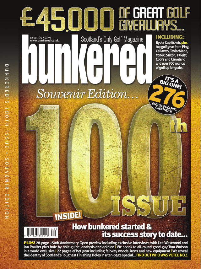 bunkered – Issue 100 – front cover