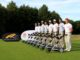 England's U18 Team with new Powakaddy Freeway II trolleys