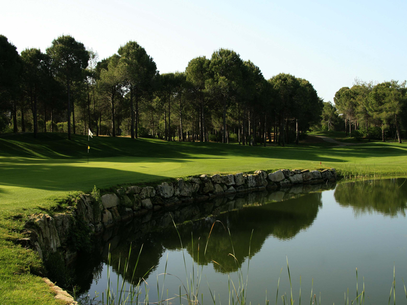 Antalya Golf Club, Belek, Antalya, Turkey.    © PHIL INGLIS