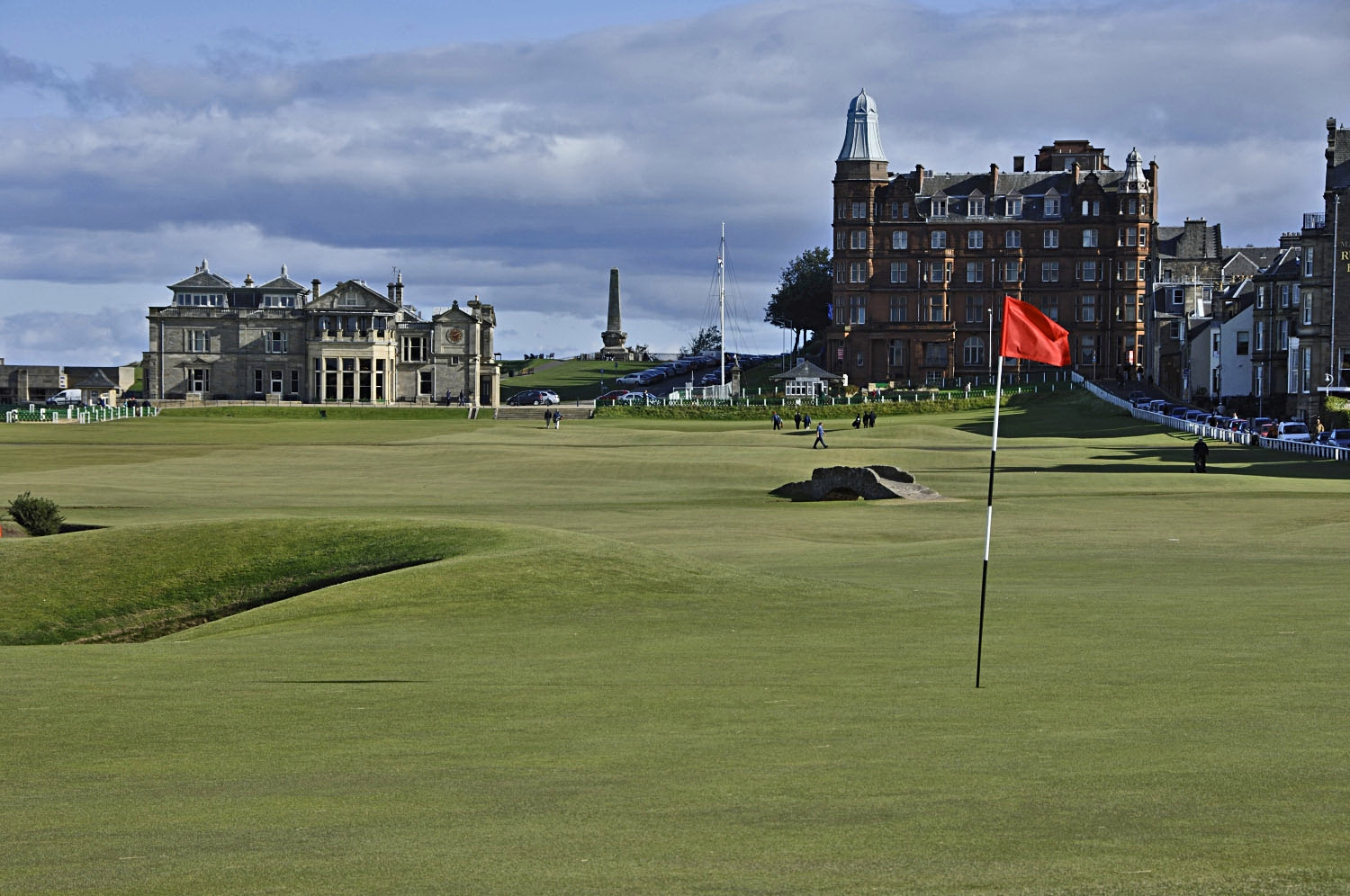 Old Course 18th hole