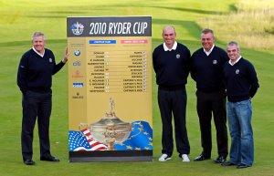 Ryder Cup Team announcementmod