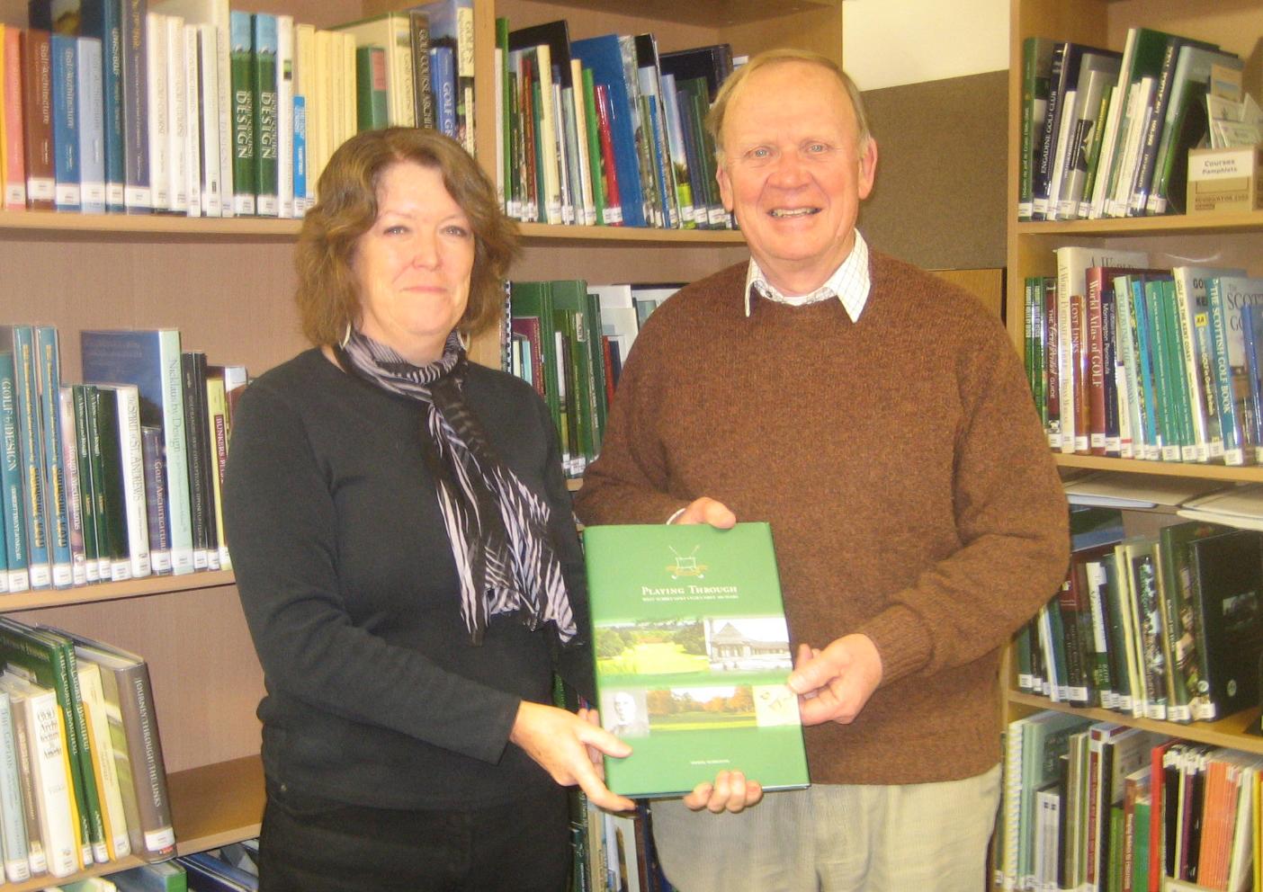 Sue Stranger and Derek Markham