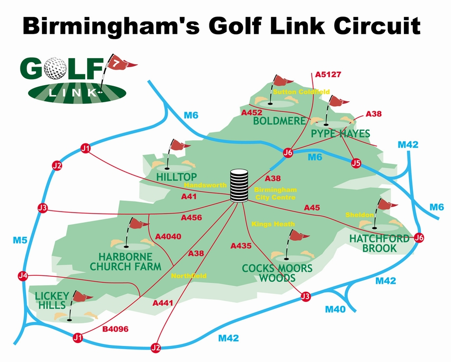 Birmingham Golf Link circuit 7 map pp