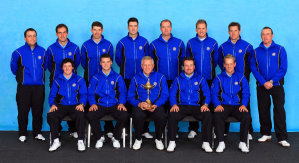 Europe Team Photocall-2010 Ryder Cup