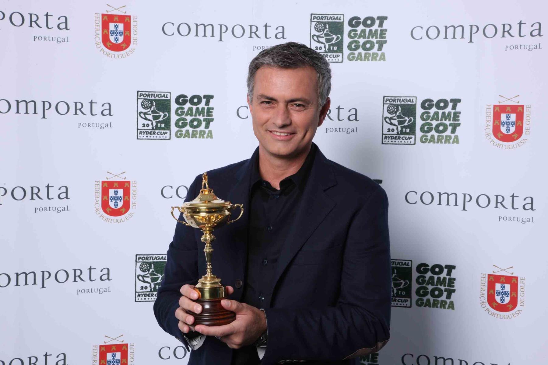 Mourinho back Portugal Ryder Cup bid lr