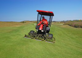 The Jacobsen SLF-1880 with protective cagemod