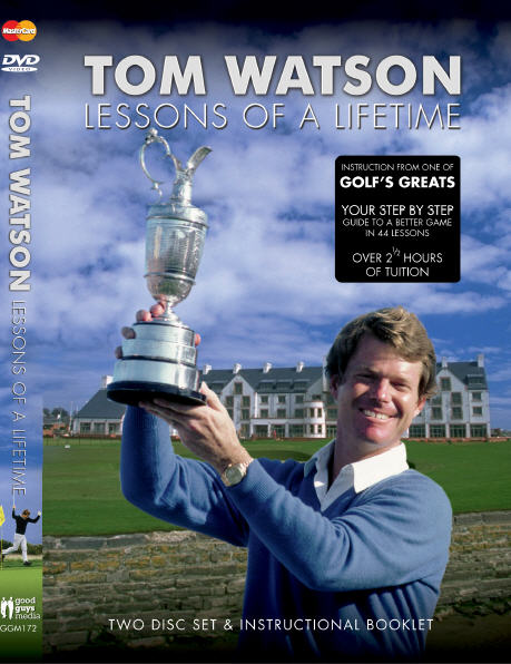 Tom Watson DVD Cover Europe