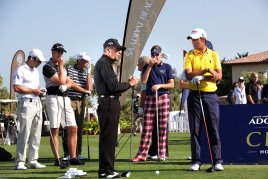 World stars gather at the Saadiyat Beach Classic hosted by Gary Player, including Rookie of the Year Matteo Manasseromod