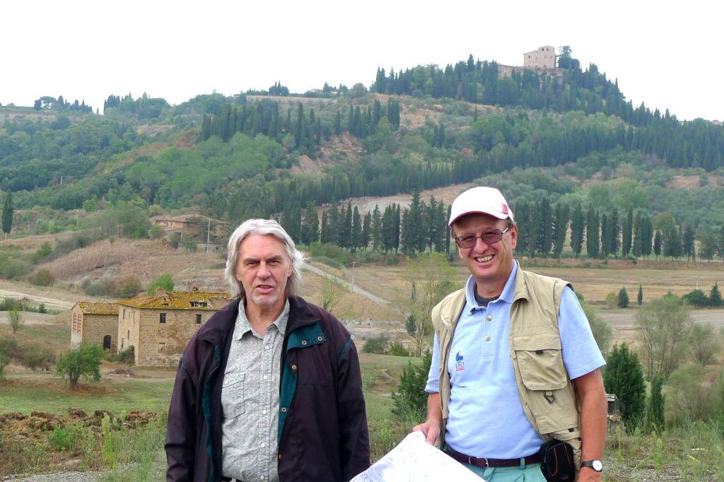 Preissmann & Moroder- the architects on site