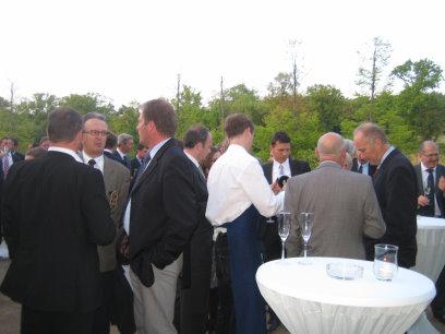 EIGCA President's Dinner receptionmod