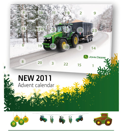 Golf Business News Christmas Treats For 2011 From John Deere