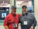 Wayne Farrell of STX Golf and Tony Gibbons of AG Tee, Ireland