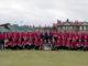 The BIGGA Open Support Team on the 18th fairway at Lytham last year