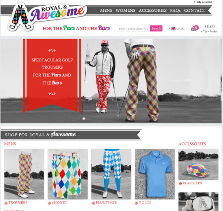 513a402695a Golf Business News - Royal & Awesome Give Fans Chance To Design New ...