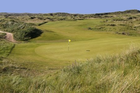 Saunton East, one of the six courses in England's Atlantic Links