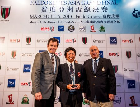 SHENZHEN, CHINA – MARCH 15: Day three of the Faldo Series Asia Grand Final on March 15th, 2013 in Shenzhen, China. Photo by Xaume Olleros / The Power of Sport Images