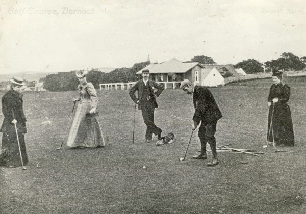 Dornoch Golf Course bandw1