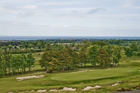 Duke's Course overlooking St Andrews006