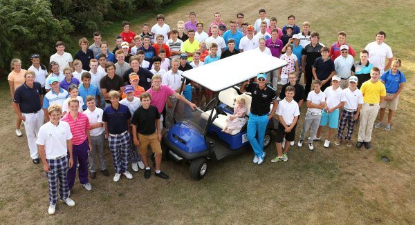 Ian Poulter Invitational_Ryder Cup Club Car_2013