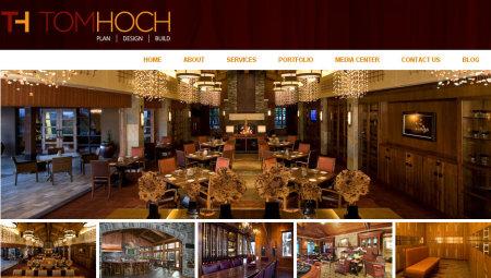 Tom Hoch website screengrab