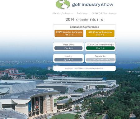 Golf Industry Show website