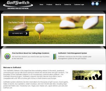 GolfSwitch website
