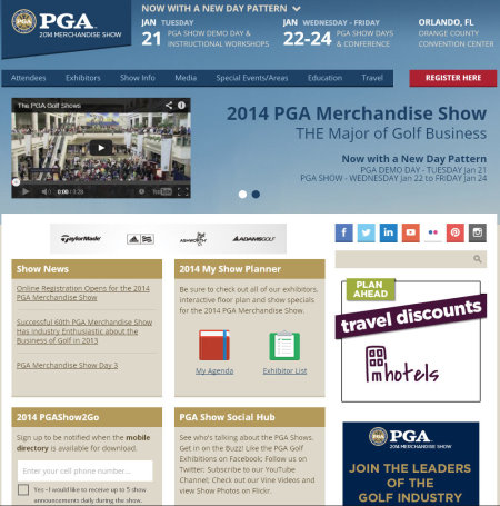 PGA Merchandise Show 2014
