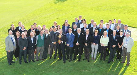 Environment Secretary, Richard Lochhead announces significant funding from Scottish Government and the launch of the Ryder Cup Green Drive at Auchterarder Golf Club