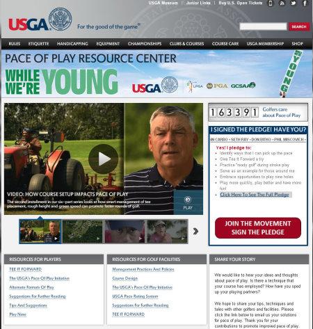 USGA While we're young video web image