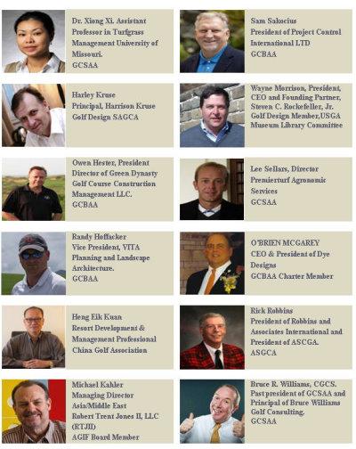 Asia Golf Show 2013 Speakers