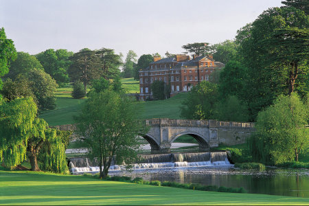 Brockett Hall view from the 16th Green, Melbourne Course