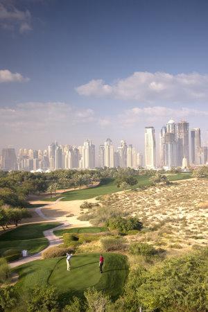 General Views of Dubai Golf Courses