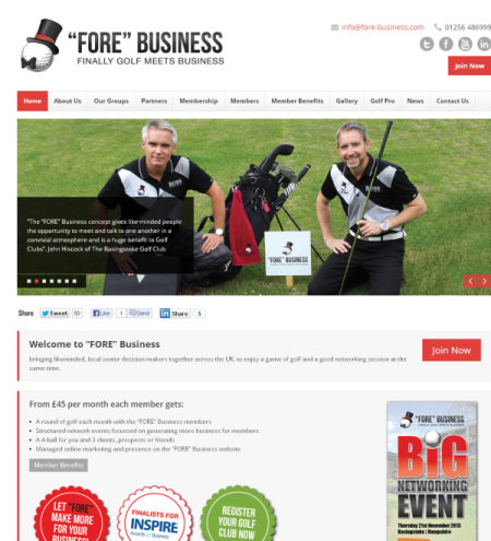 FORE Business website