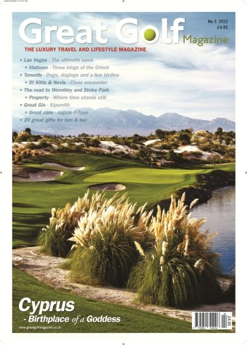 Great Golf Magazine Cover Poster-page-0