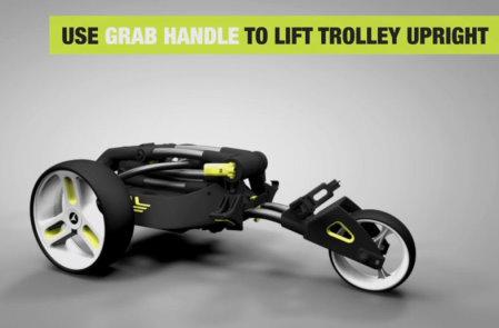Motocaddy instore video