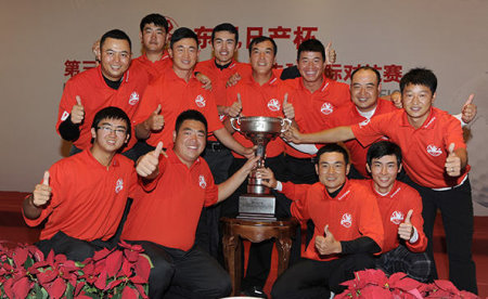 Dong victorious China team