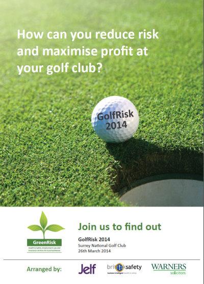 GolfRisk leaflet