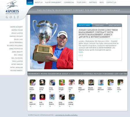 4SportsGolf website