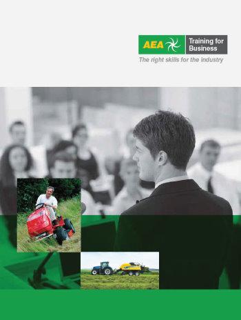 AEA Training prospectus