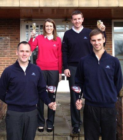 Carden park golf team