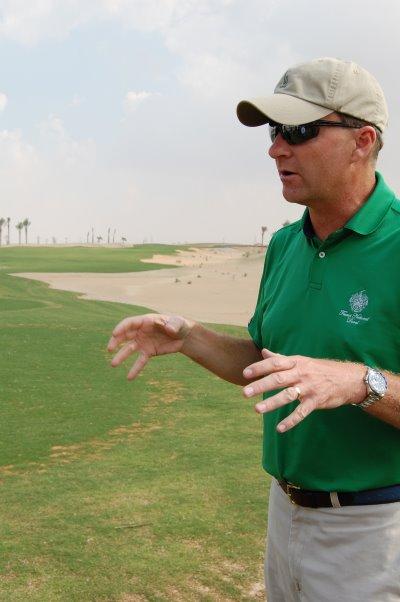 Gil Hanse at Trump International Golf Club Dubai