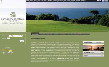 Hotel Quinta da Marinha Resort website