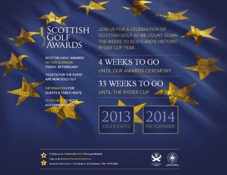 Scottish Golf Awards website