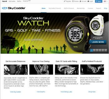 Skycaddie website